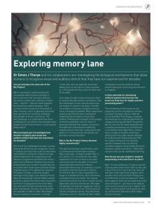 The M4 Project: Memory Mechanisms in Man and Machine