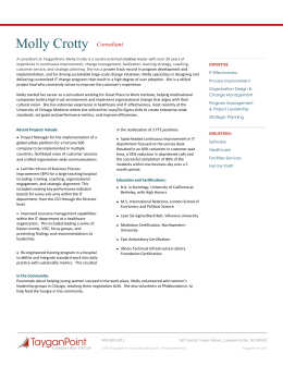 Molly Crotty - TayganPoint Consulting Group