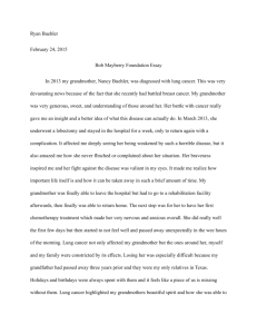 Bob Mayberry Foundation Essay.pages