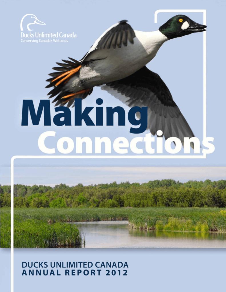 Annual Report 2012 Full - Ducks Unlimited Canada