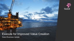 Execute for Improved Value Creation