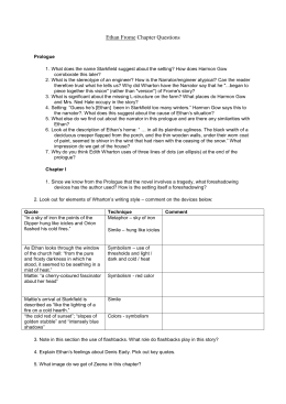 ethan frome novel essay questions Ethan frome test found in: ethan frome - novel test, ethan frome  matching, and essay questions as well as a comprehensive answer key.