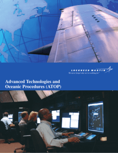 Advanced Technologies and Oceanic Procedures