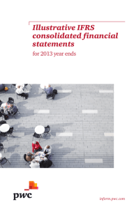Illustrative IFRS consolidated financial statements for 2013