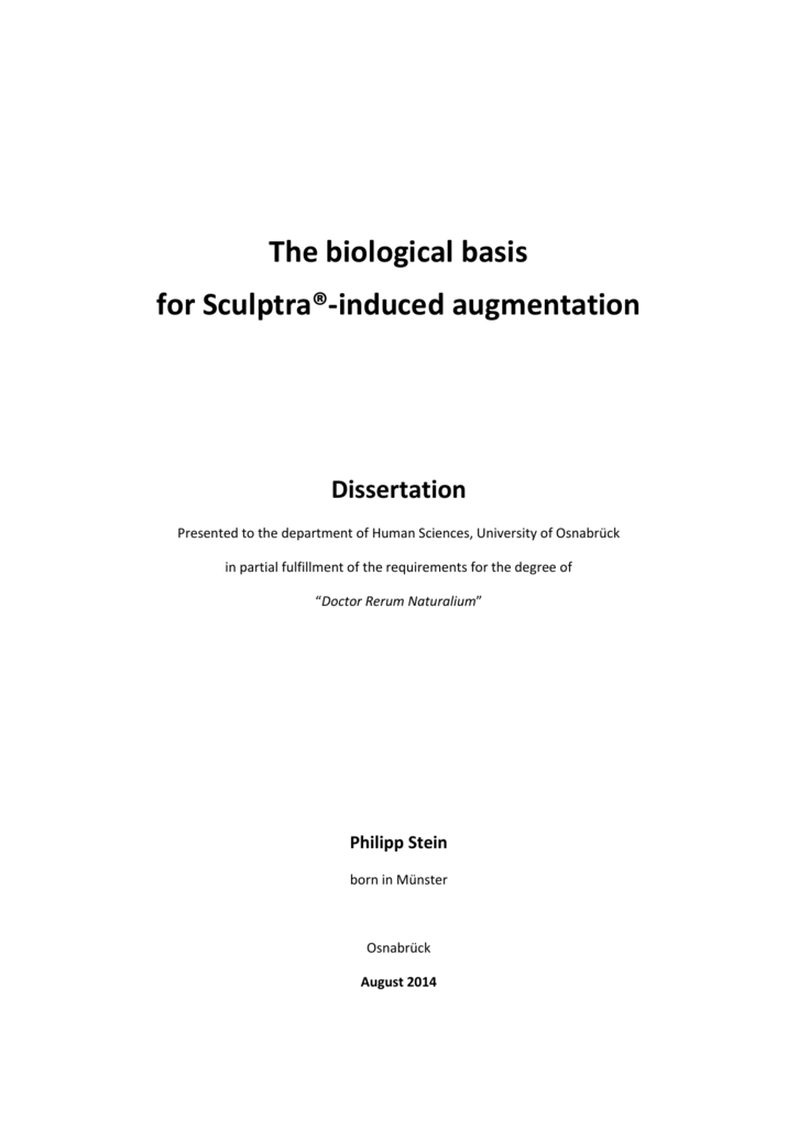 The biological basis for Sculptra®-induced on