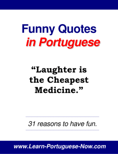 Funny Quotes in Portuguese