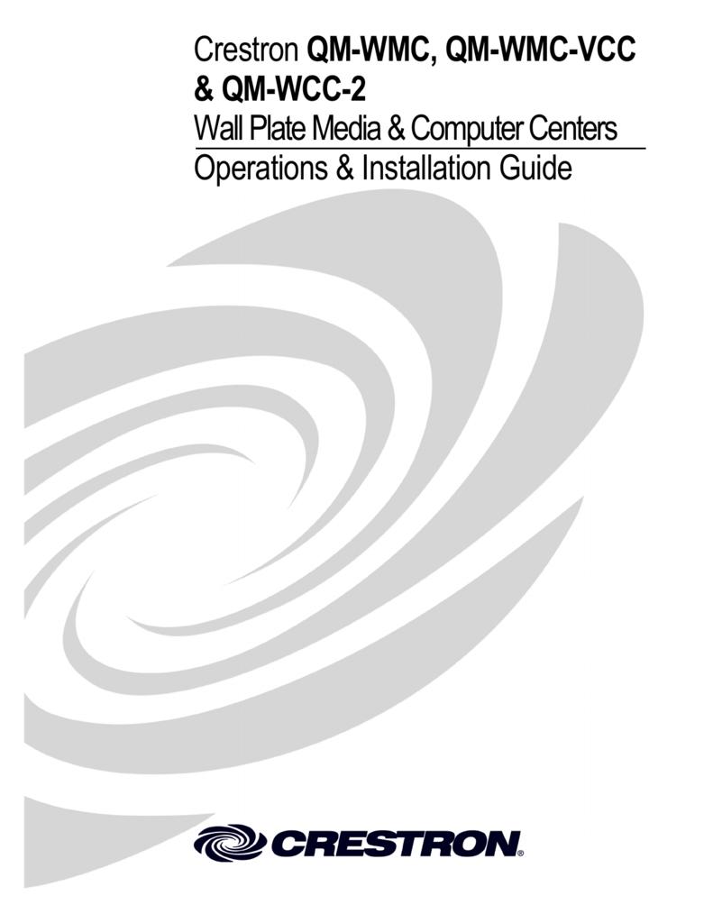 Qm Wmc Vcc Wcc 2 Series Wiring Diagrams