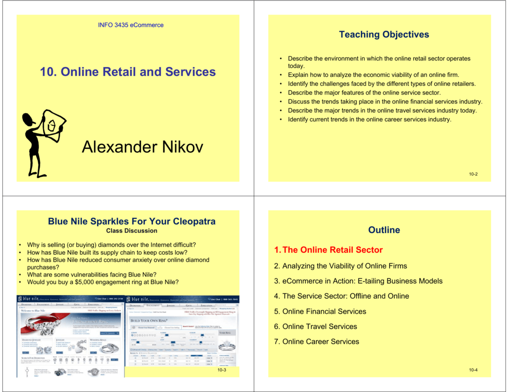 10  Online Retail and Services