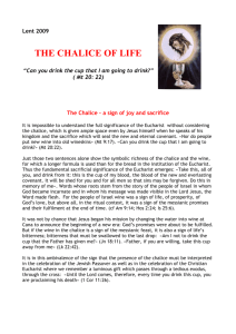 THE CHALICE OF LIFE