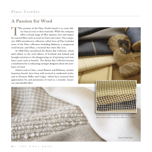 A Passion for Wool