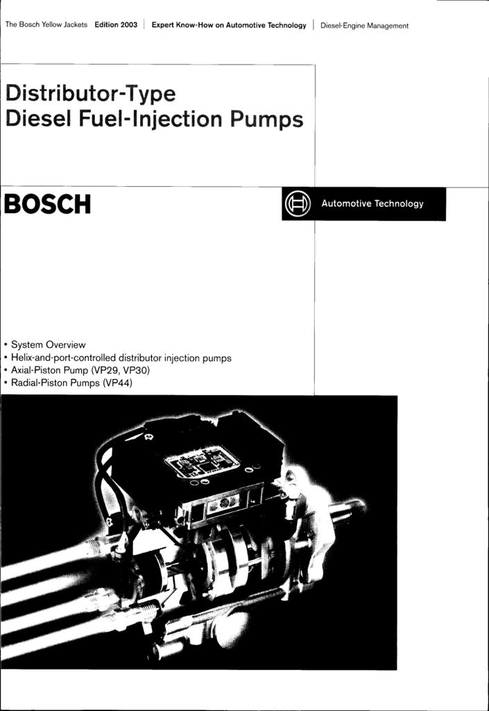 Bosch Dist Pump