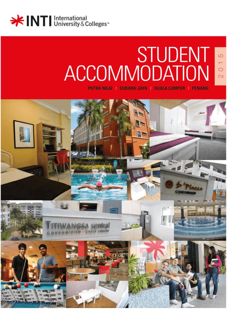Revise Draft Inti Accommodation Inti International University