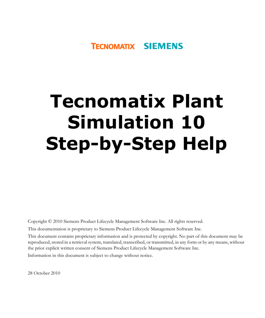 Tecnomatix Plant Simulation 10 Step By Help Human Cell Diagram Structure Fileplant