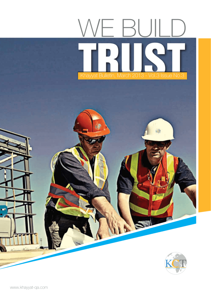 March 2013 - Khayyat Contracting & Trading