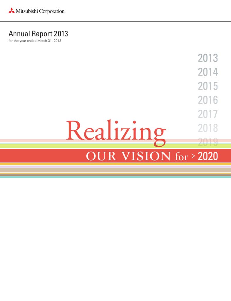mitsubishi annual report