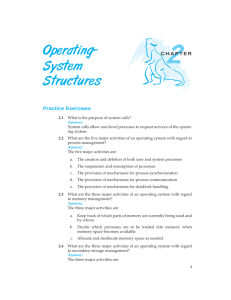Operating- System Structures