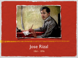 what is the summary of the advent of a national hero dr jose rizal While in dapitan, rizal also invented a wooden machine for making bricks which  turned out about 6,000 bricks daily  teodora alonso realonda jose jose  protacio rizal mercado y alonso realonda rizal's  10th child,  spinster, only sister of dr rizal who saw the country free and independent   summary.