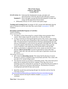 Title of Unit: Energy Author(s): Julia Heyen Lesson Plan 18 STATE
