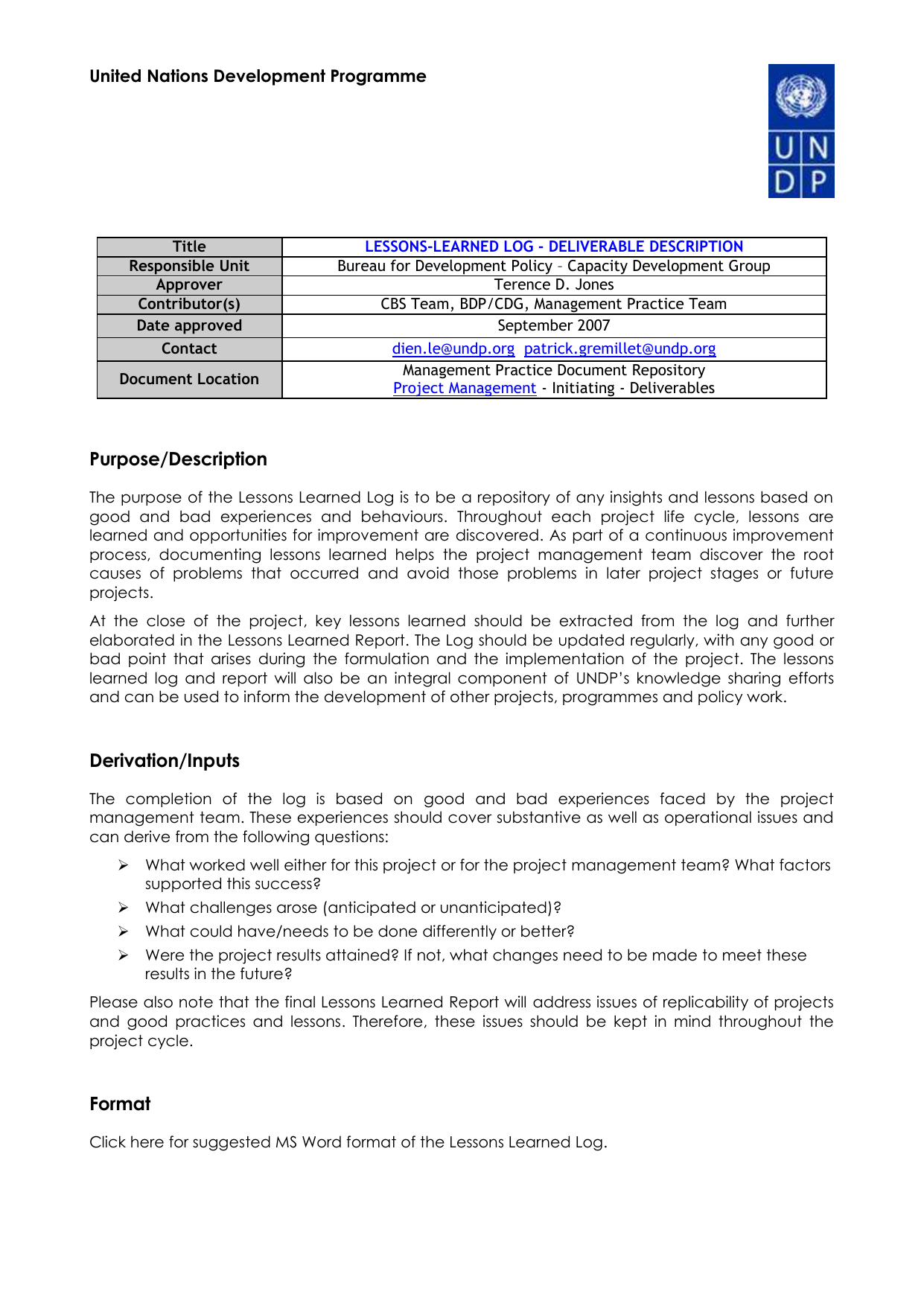 project management lessons learned report template] management, Presentation templates