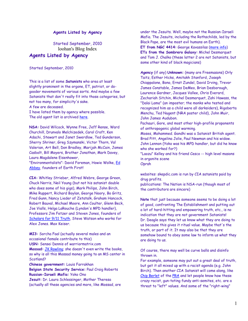 Loohan's blog for September, 2010