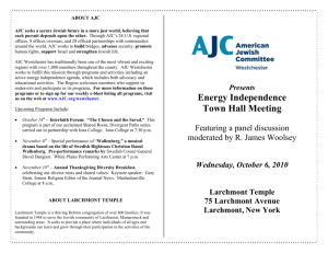 About AJC - American Jewish Committee