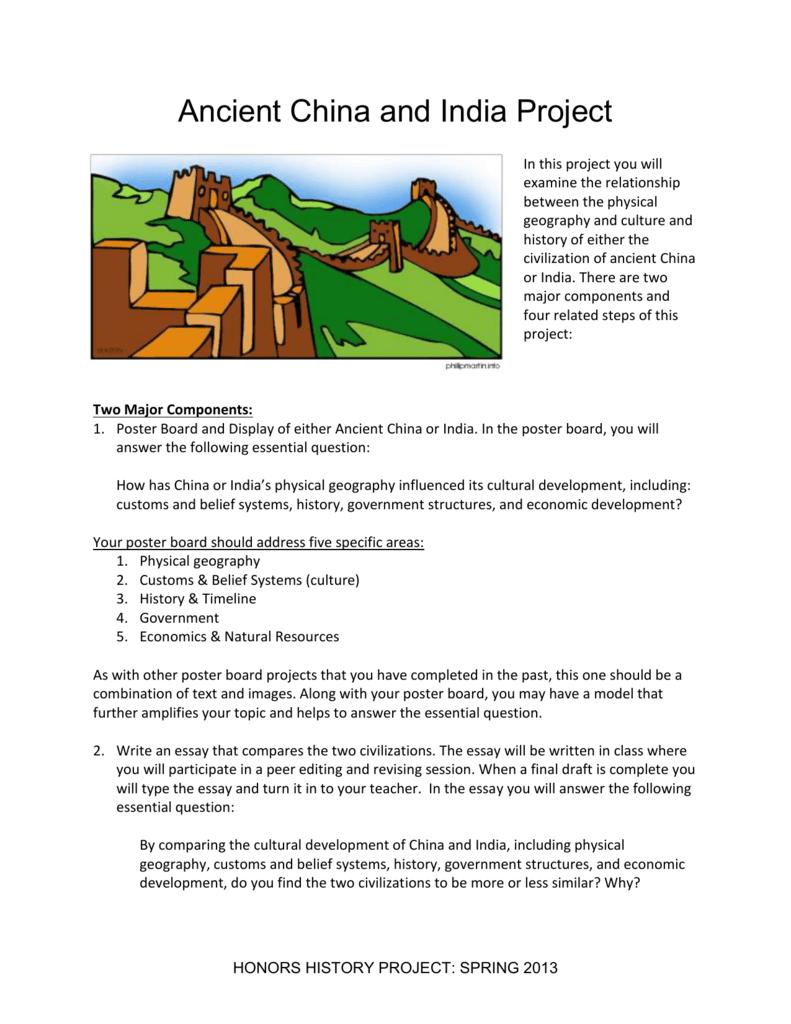 ancient china civilization essay