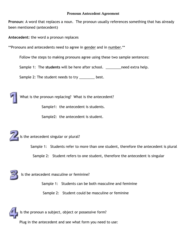 worksheet Unclear Pronoun Reference Worksheet 008937968 1 534e1eb1e5cb2ac09a05263086eaaa7c png