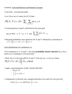 Transformations of a Continuous Random Variable:
