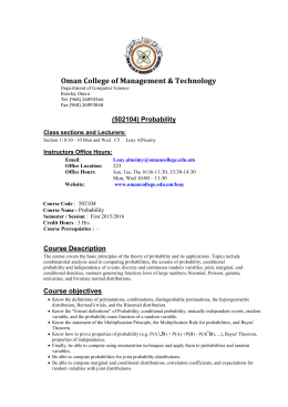 Document - Oman College of Management & Technology