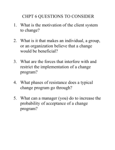 CHPT 6 QUESTIONS TO CONSIDER