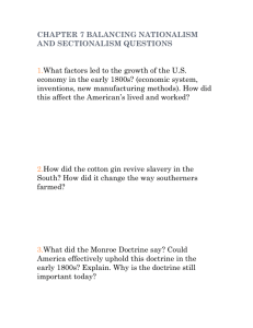 chapter 7 balancing nationalism and sectionalism questions