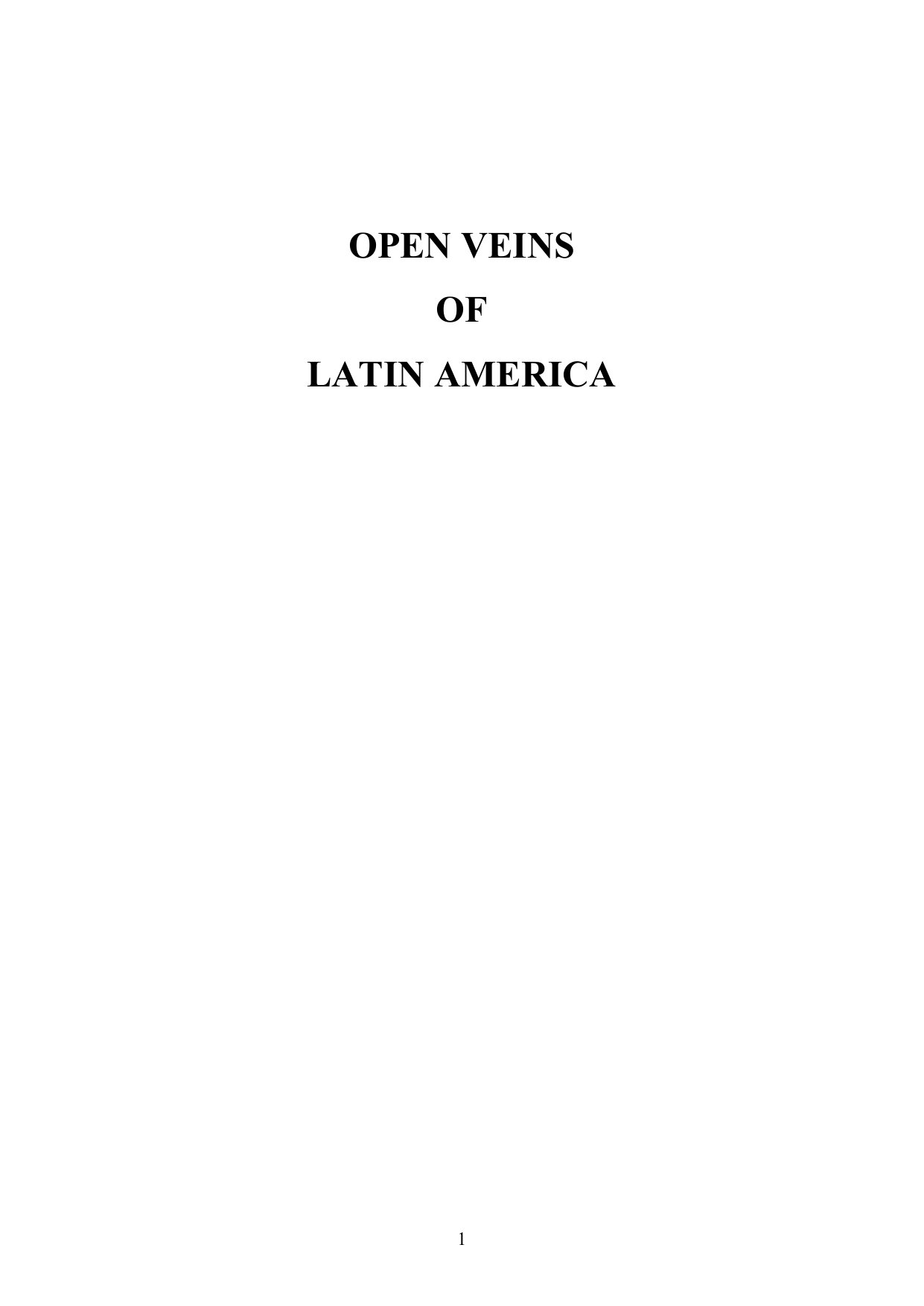 cc0177f55afa OPEN VEINS OF LATIN AMERICA 1 also by EDUARDO GALEANO Days and Nights of  Love and War Memory of Fire: Volume I, Genesis Volume II, Faces and Masks  Volume ...