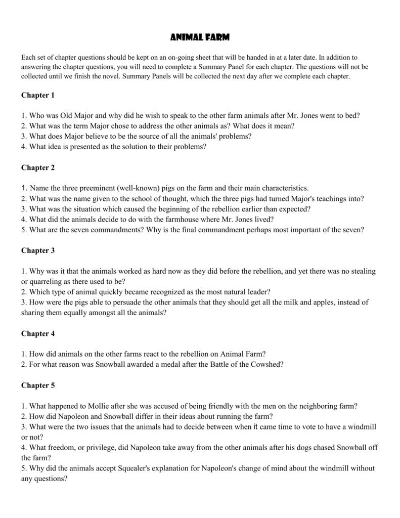 animal farm essay introduction