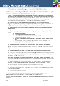 Fact Sheet for Principals and Managers