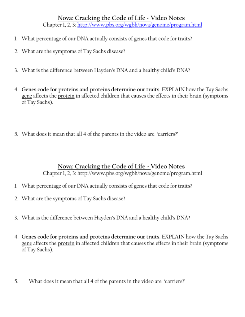 worksheet Genetic Code Worksheet cracking the genetic code worksheet best and most ing code