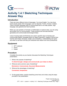 Planning descriptive essay
