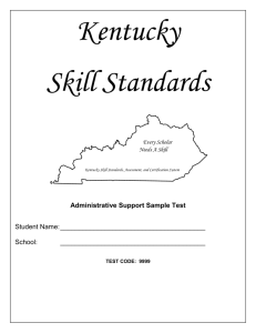 Administrative Support File