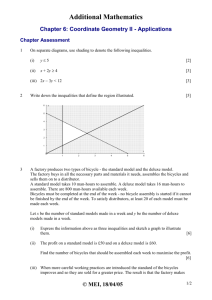 Chapter 6: Coordinate Geometry II