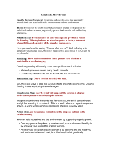 Worksheet for Persuasive Speech
