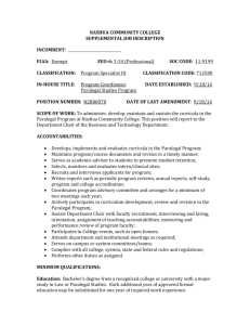 NASHUA COMMUNITY COLLEGE SUPPLEMENTAL JOB