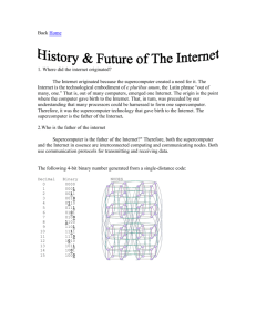 11. History of Internet