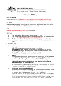 NAIDOC logo Deed of Licence