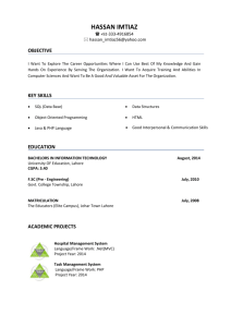 Resume - Brainiacs Tech