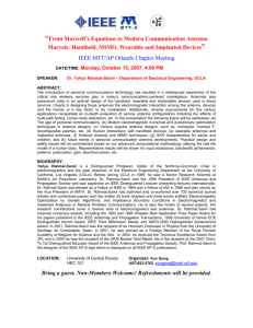 IEEE Standards - draft standard template