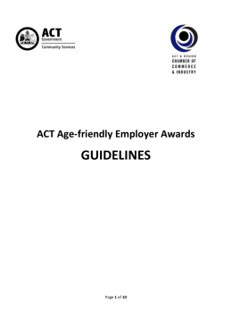 Age-friendly Employer Awards - Community Services