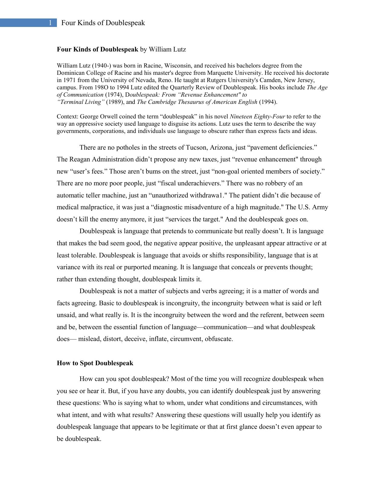 Worksheets Euphemism And Doublespeak Worksheet Answers 008963862 1 0305dc675012b9029029705805d2afa7 png