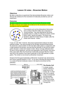 student notes - science