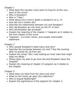 the secret life of bees journal packet study guide questions for the secret life of bees