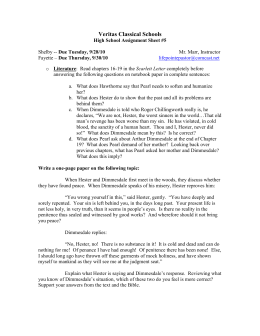 scarlet letter chapter 3 pdf