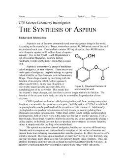 Aspirin Formula